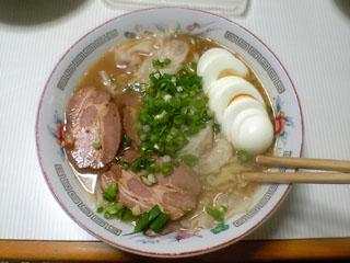 特製味噌ワンタン麺