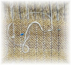 ウールの布5
