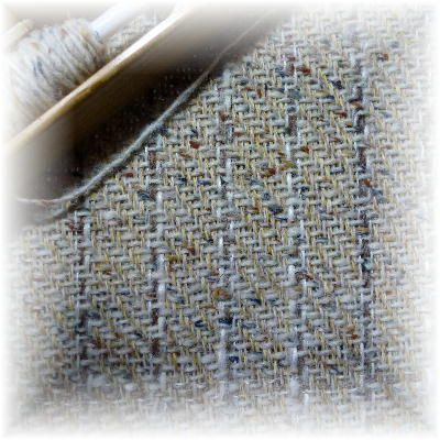 ウールの布8