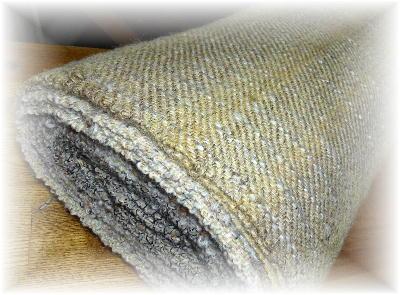 ウールの布10