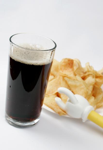 「高カロリー食とコーラ飲料の相性」