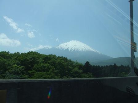 富士五湖道路より
