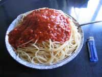 スパゲティだッ!!!
