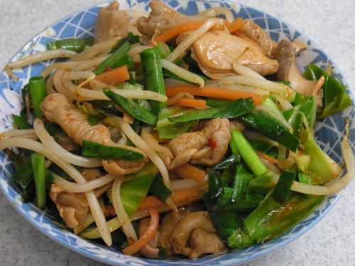110507-010ホルモン野菜炒め(縮小)
