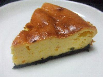 かぼちゃのチーズケーキ(12・21)