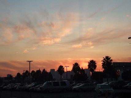 サンディエゴ朝日