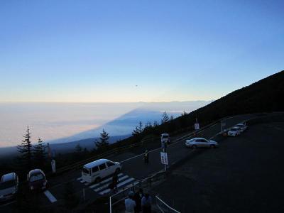 富士宮五合目からの影富士