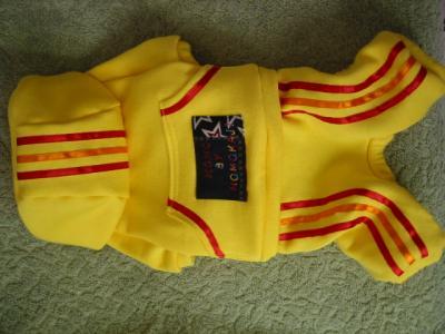 黄色ジャージ赤×オレンジO