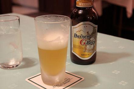 Gビール♪