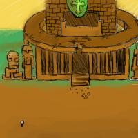 清楚な神殿ではない