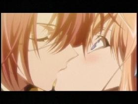 空と京四郎のキス