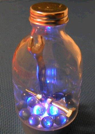 なんちゃって不思議物体ボトル&スパナット(作品3)