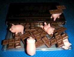 明治チョコレートパズル(ミルク)