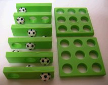 サッカーボールパズル1