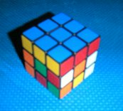 ルービックキューブ step1 完全一面