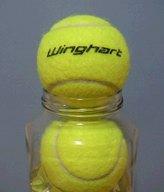 テニスボール瓶詰め2