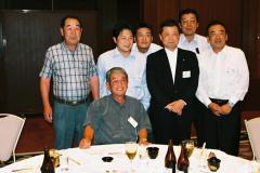 潮田会長と西千葉TFCの社長さんがたと