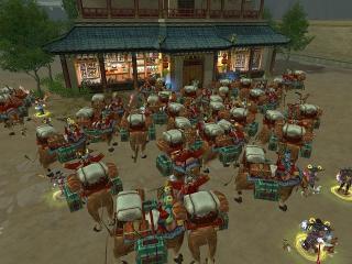 敦煌に集う、、、、牛、牛、牛、