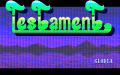 テスタメント(オープニング画面)