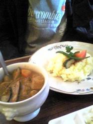 茄子とひき肉カレー