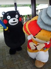 北熊本SA40周年記念イベントで生くまモンとふれあい♪