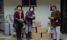 東日本被災者野菜