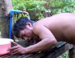 鉄管シャワー