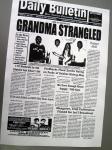 地元の新聞