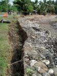 堤防の被害
