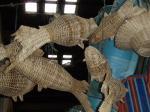魚の籐製品