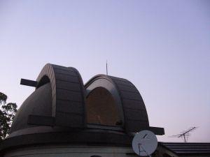 天文館の望遠鏡