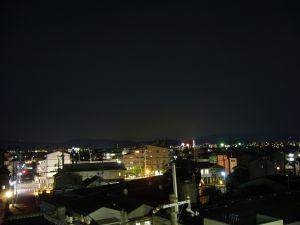 マンション夜景