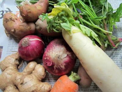 ネパール 野菜