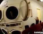 人間をランドリーの乾燥機にブチ込んでみたよ!