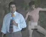 【放送事故】生放送中のカメラに全裸の男が乱入
