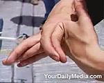 フレキシブル(柔軟)な指間接自慢