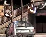 【Jump Around!】パワライザーで飛び跳ね回るジャンプトリック映像