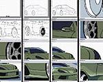 MSペイントでの車の描き方