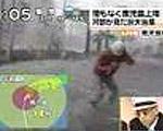 【台風中継】豹変の瞬間
