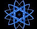 光の玉が軌跡を描くインタラクティブフラッシュツール
