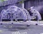蒸気機関で動くロボット