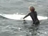 少年の旅立ち ムンダカの波