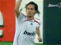 UEFA CL 06-07 決勝戦ACミラン 対 リバプール