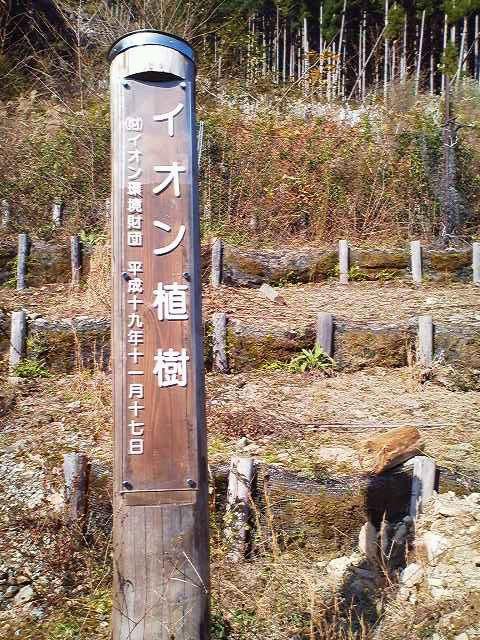 イオン環境財団・宮川村植樹サポーターズクラブ