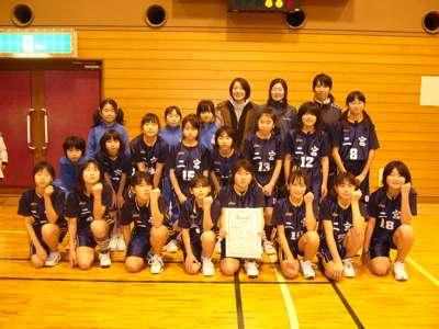 全佐渡ミニバスケット大会Bクラス女子