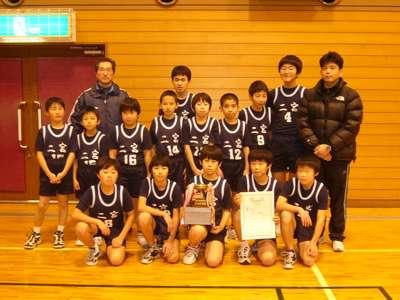 全佐渡ミニバスケット大会Bクラス男子