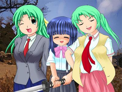 園崎姉妹「愛くるしい梨花ちゃまと麗しい私達」