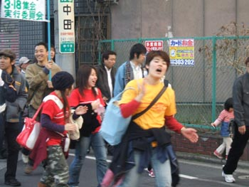 3・4春闘集会デモ7