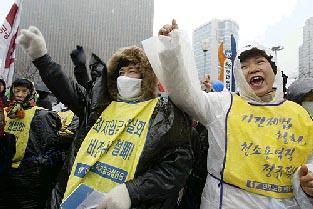 国際婦人デー韓国1