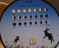 満月カレンダー